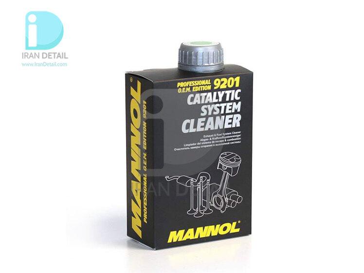 اسپری تمیزکننده سیستم کاتالیزور مانول مدل MANNOL Catalytic System Cleaner 9201
