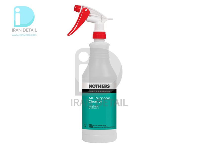 ظرف اسپری پاشش تمیزکننده همه کاره یک لیتری مادرز مدل Mothers Professional All-Purpose Cleaner Spray Bottle 87132