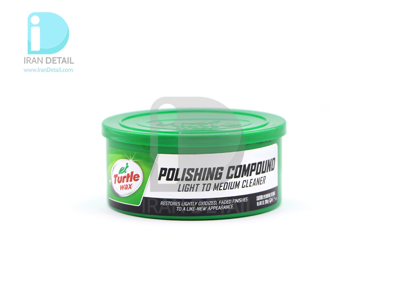 پولیش خمیری از بین برنده خط و خش ترتل واکس مدل Turtle Wax Polishing Compound Light to Medium Cleaner