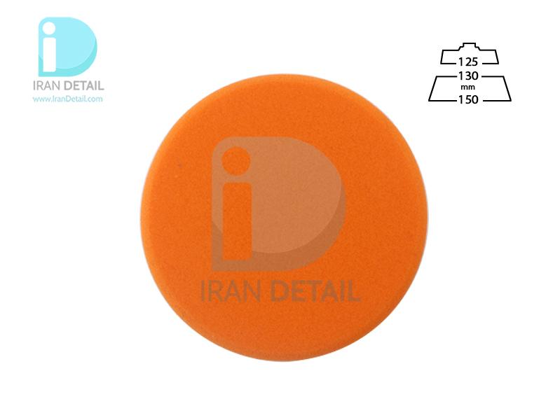پد پولیش متوسط روتاری نارنجی زیزر 130 ميلی متری مدل Zvizzer Rotary Medium Pad Orange ED00015020MC