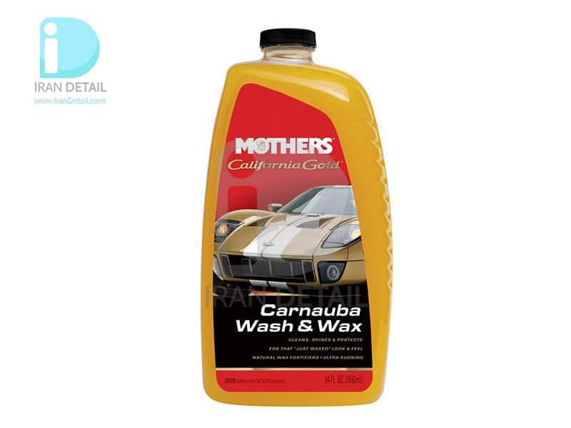 شامپو واکس کارناوبا کنسانتره 2 لیتری مادرز Mothers Carnauba Wash & Wax 5674