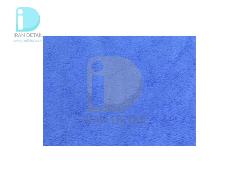 دستمال مایکروفایبر 40 در 60 آبی مدل Microfiber Cloth Blue 40*60 cm