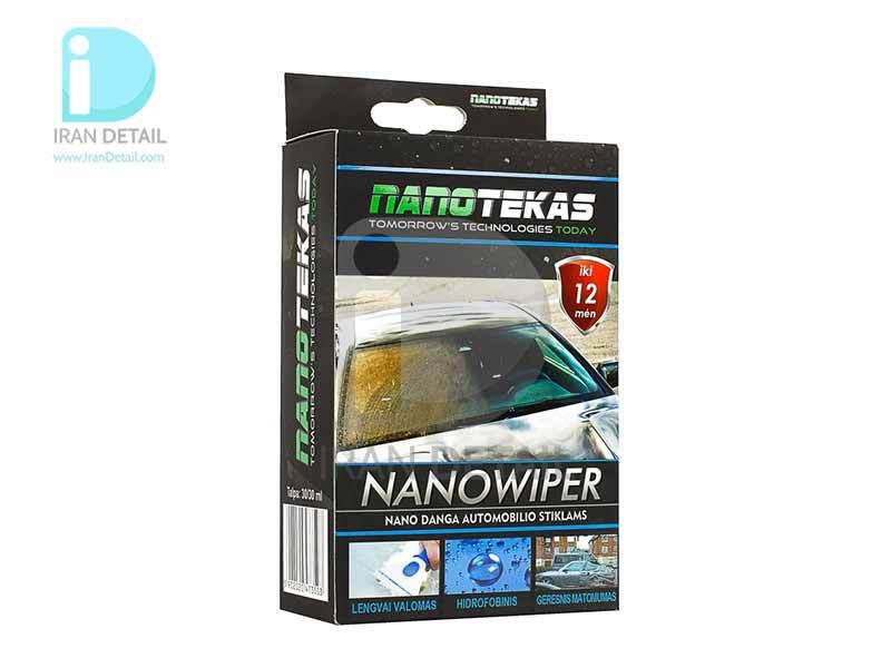 پوشش سرامیک شیشه نانو تکاس مدل NanoTekas Nano Wiper Glass Coating