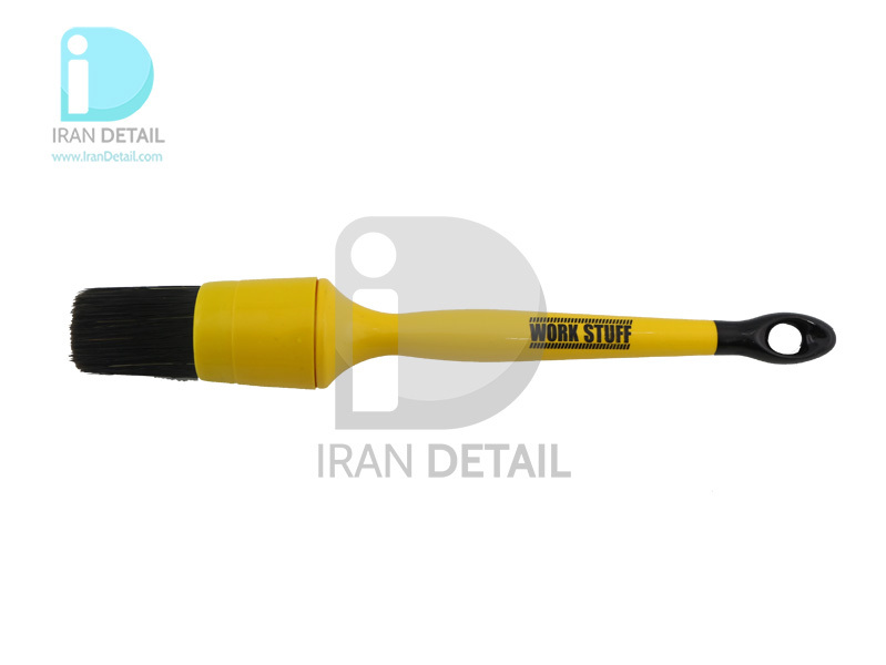 قلم دیتیلینگ سایز 30 مشکی ورک استاف مدل Work Stuff Detailing Brush Black 30mm