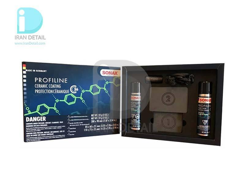 پوشش سرامیک محافظ رنگ 36 ماه سوناکس مدل SONAX Profiline Ceramic Coating CC36