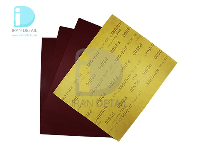 ورق سنباده اسمیردکس مدل Smirdex Alox Wet/Dry Abrasive Sheet P2500