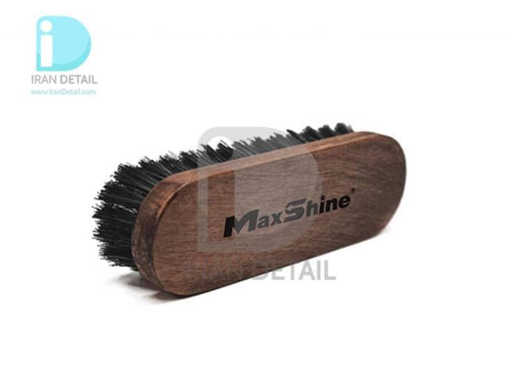 فرچه مخصوص چرم مکس شاین Maxshine Leather and Alcantara Cleaning Brush
