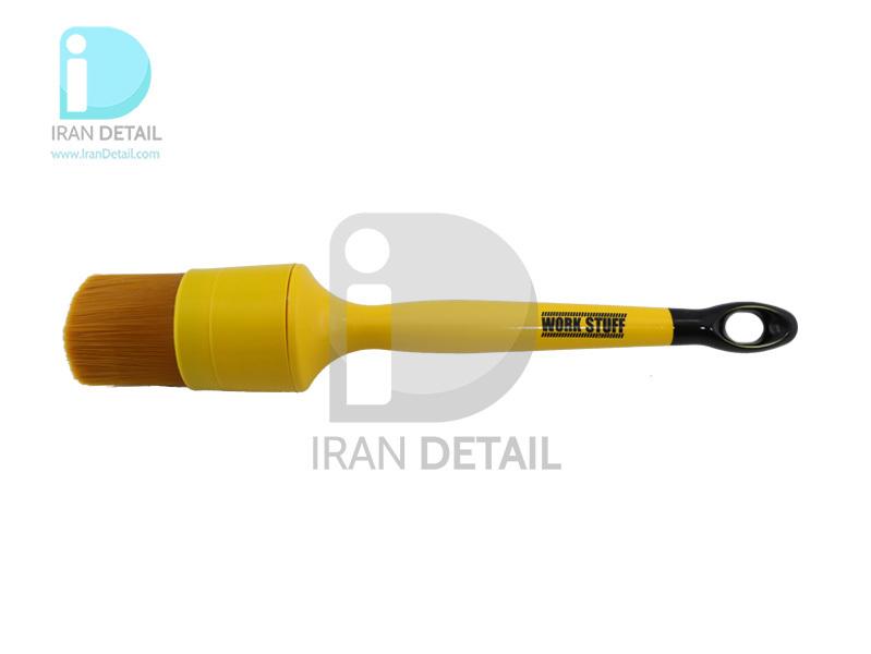 قلم دیتیلینگ سایز 40 آلبینو نارنجی ورک استاف مدل Work Stuff Detailing Brush Albino Orange 40mm