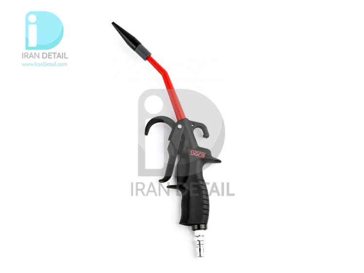 تفنگ بادی فشار قوی مخصوص موتورشویی و دیتیلینگ حرفه ای خودرو اس جی سی بی مدل SGCB Air Blow Car Detailing Gun-SGGC 040