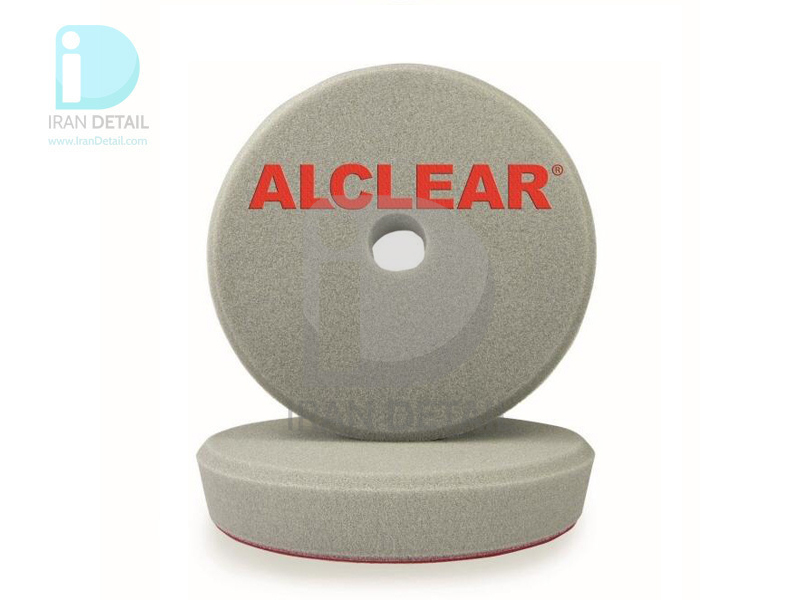 پد پوليش زبر طوسي اوربيتال آل كلير 163 ميلي متر Alclear Polishing Pad Hard Gray