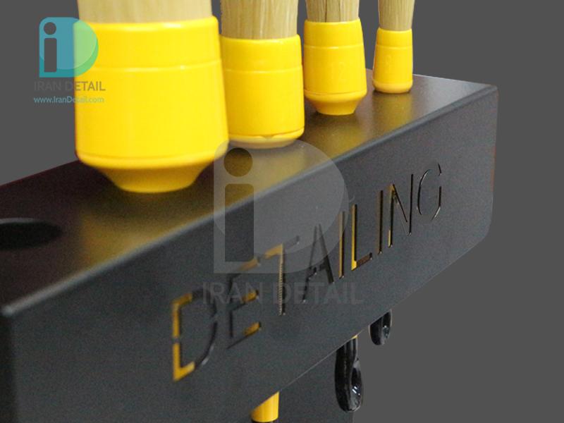هولدر دیواری قلم و اسپری 30 سانتی متری دیتیلینگ مشکی مدل Detailing