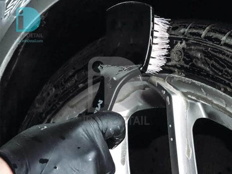 فرچه مخصوص لاستیک مکس شاین 7011003 MaxShine Professional Tire Brush