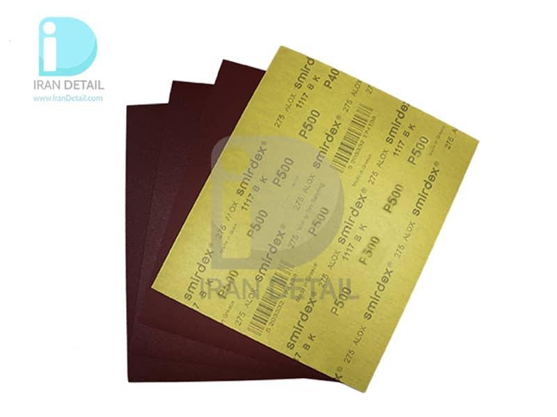 ورق سنباده اسمیردکس مدل Smirdex Alox Wet/Dry Abrasive Sheet P500