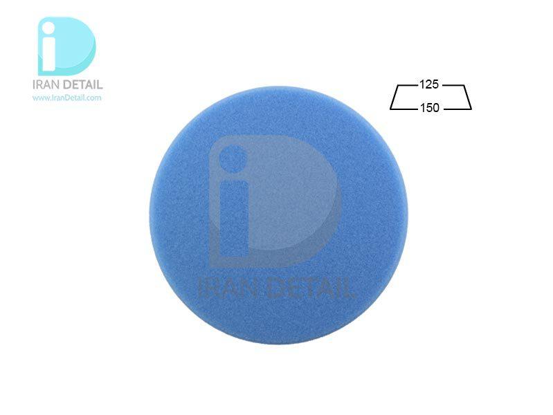 پد پولیش متوسط روتاری آبی 125 میلی متری مدل Rotary Medium Polishing Pad Blue
