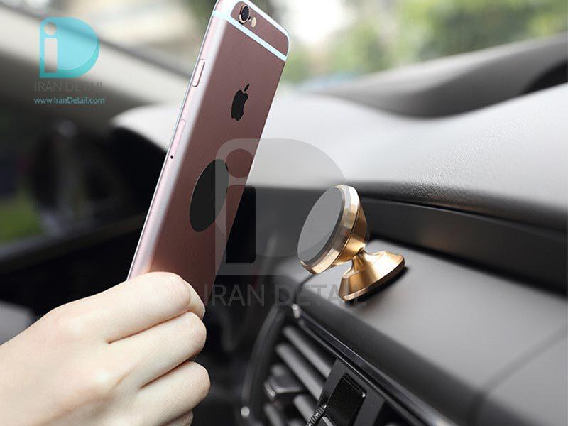 پایه نگهدارنده گوشی موبایل مگنتی (آهنربایی) با آرم مخصوص خودرو مدل Any View Mobile Bracket