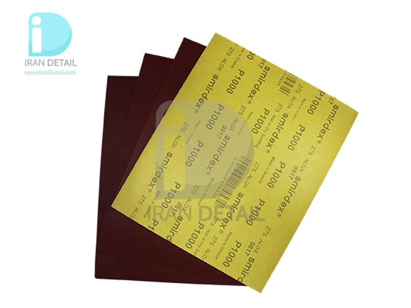 ورق سنباده اسمیردکس مدل Smirdex Alox Wet/Dry Abrasive Sheet P1000