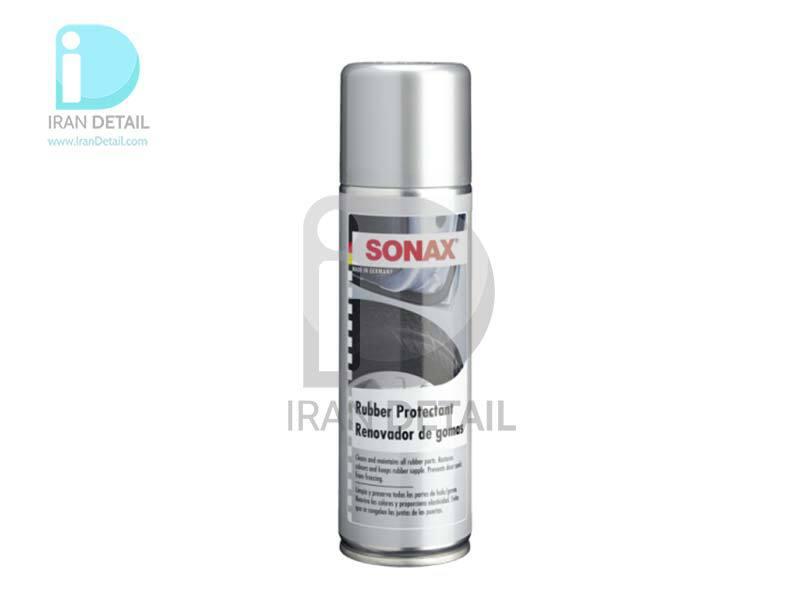 اسپری محافظ تایر و قطعات لاستیکی سوناکس SONAX Rubber Protectant