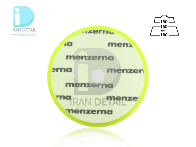 پد پولیش نرم سبز سایز 150 میلی متری منزرنا Menzerna Soft Cut Foam Pad 150 mm