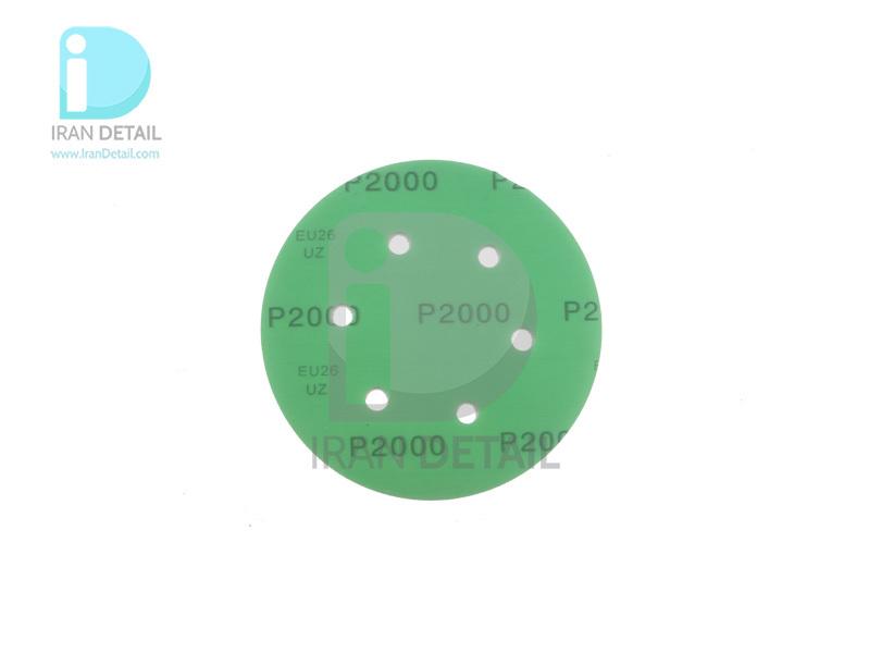سنباده ورقه ای دیسکی سایز 150 میلی متری مدل Sanding Disc 150MM P2000