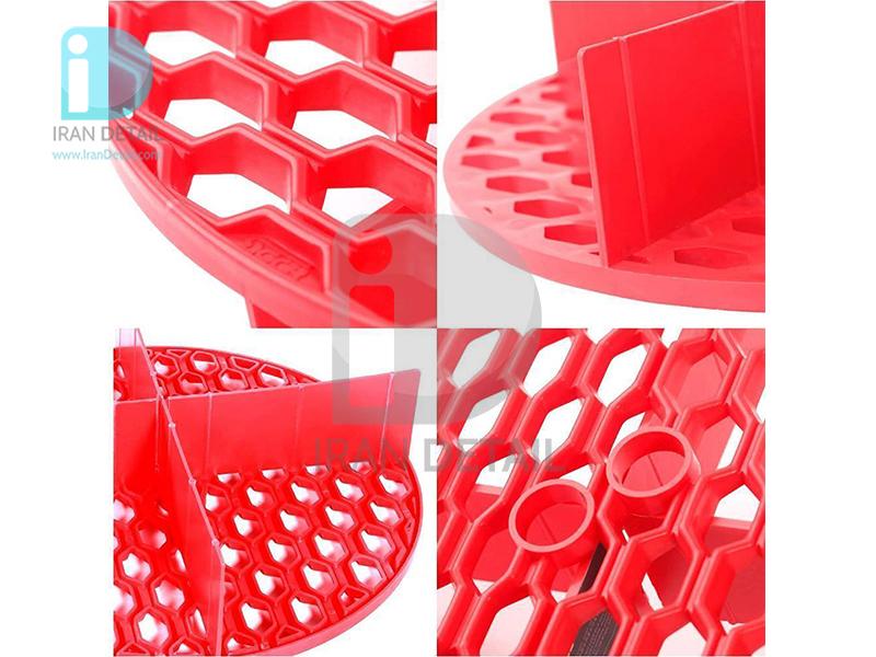 فیلتر آشغال گیر سطل شستشو خودرو قرمز اس جی سی بی مدل SGCB Sand Filter red SGGD 277