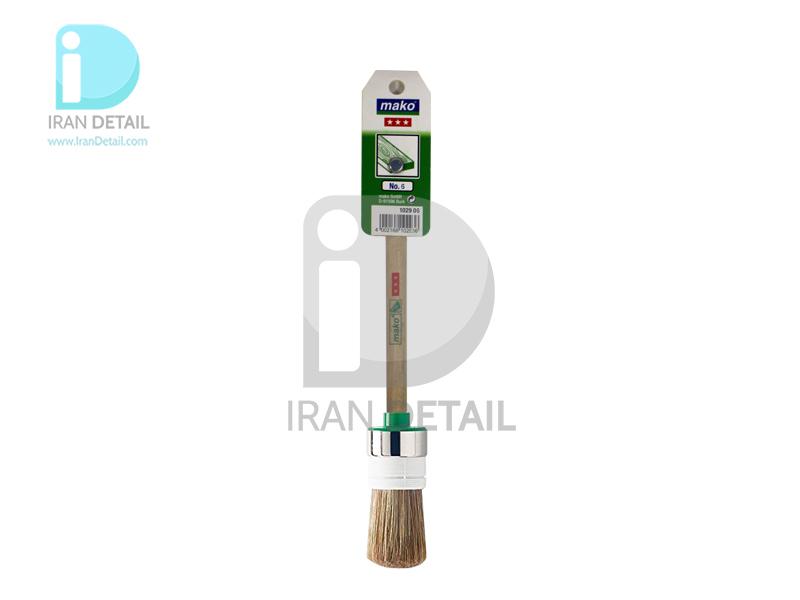 قلم دیتیلینگ ماكو آلمان شماره 6 Mako Detailing Brush