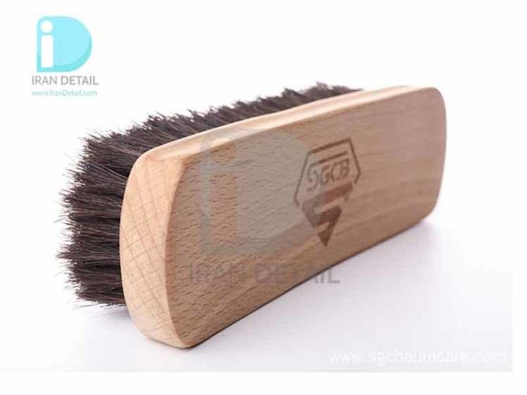 فرچه مخصوص چرم و سطوح داخلی اس جی سی بی SGCB Leather Seat Brush SGGD076