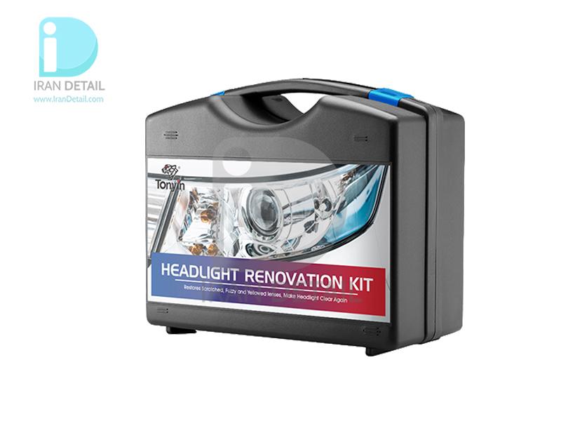 کیت براق كننده چراغ خودرو مخصوص رفع ماتی چراغ ماشين تونين مدل Tonyin HeadLight Renovation Kit TD11