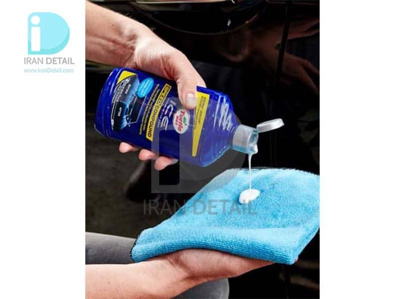 پولیش واکس مخصوص بدنه خودرو ترتل واکس مدل Turtle Wax Ice Speed Compound