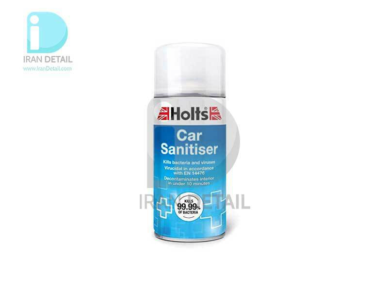 بمب تهویه مطبوع و آنتی باکتریال خودرو هولتس مدل Holts Car Sanitiser TEC1