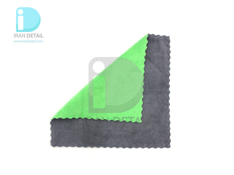 دستمال مایکروفایبر نرم دو رو لیزر برش مدل Microfiber Cloths Fine Laser Cut