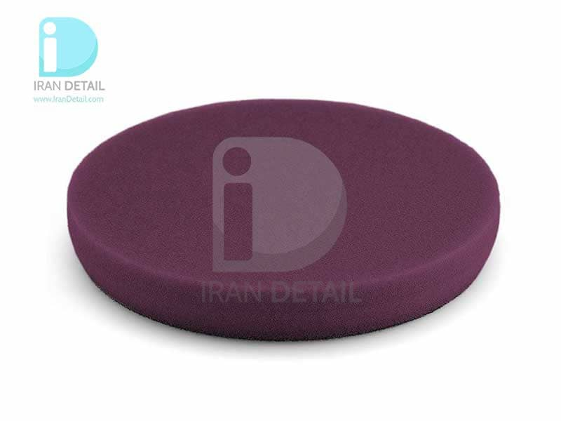 پد پولیش زبر بنفش سایز 160میلی متری فلکس Flex Polishing Sponge Violet Hard Foam 160mm