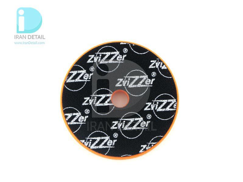 پد پولیش متوسط اوربیتال نارنجی زیزر 150 ميلی متری مدل Zvizzer Trapez Pads Orange One Step Pad TR00016525MC