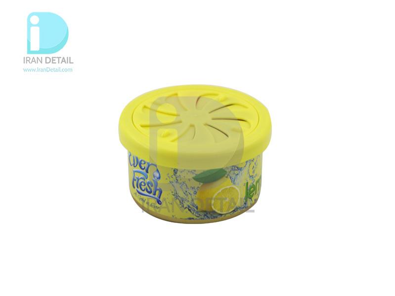 خوشبوکننده کنسروی خودرو با رایحه لیمو اور فرش مدل Ever Fresh The Can Air Freshener Lemon