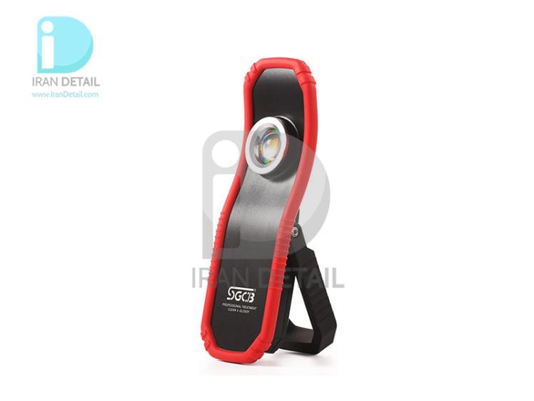 چراغ دستی آهنربایی دیتیلینگ 430 لومن اس جی سی بی مدل SGCB Ultra Bright Led Inspection Lamp SGGF061