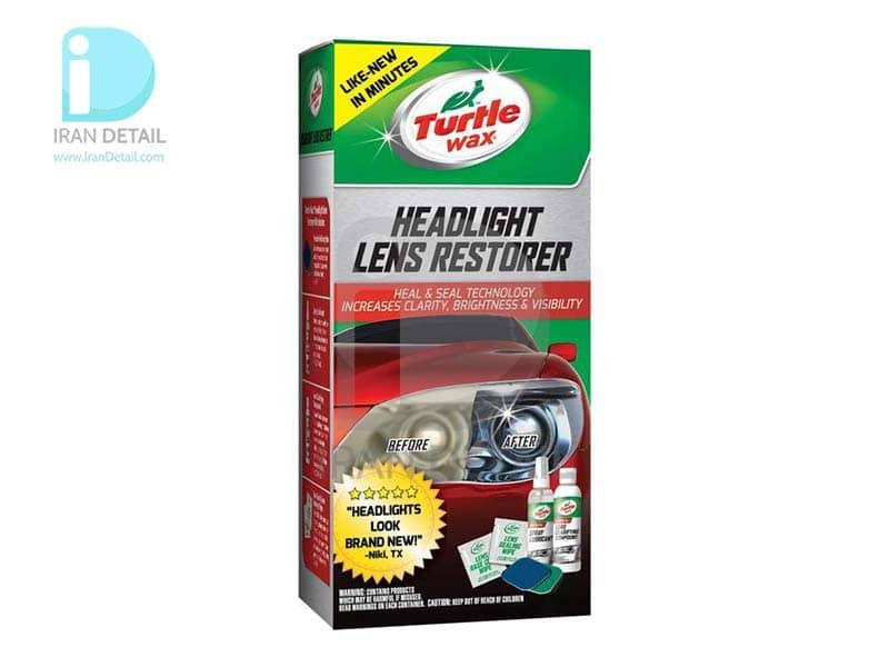 کیت کامل پولیش چراغ خودرو ترتل واکس Turtle Wax Headlight Lens Restorer KIT