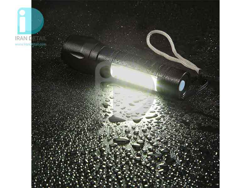 چراغ قوه شارژی مدل USB Charge XPE
