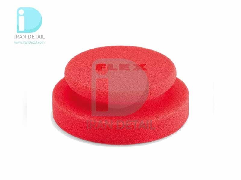اسفنج پولیش دستی نرم فلکس سایز 130 میلی متری Flex Red Polishing Sponge with Soft Foam and Fine Texture