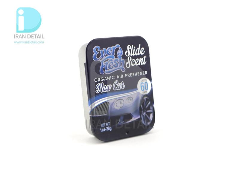 خوشبوکننده کشویی خودرو با رایحه خودرو نو اور فرش مدل Ever Fresh Air Freshener Slide Scent New Car