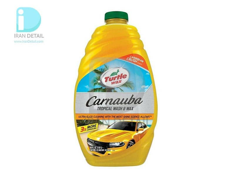 شامپو واکس کارناوبا 1.5 لیتری ترتل واکس TURTLE WAX CARNAUBA WASH & WAX