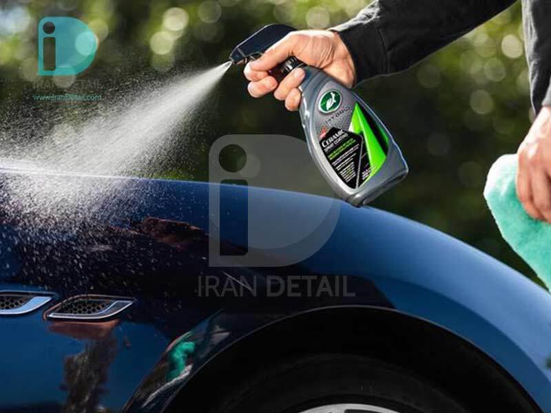 اسپری پوشش سرامیک هایبرید ترتل واکس مدلTurtle Wax Hybrid Solutions Ceramic Spray Coating