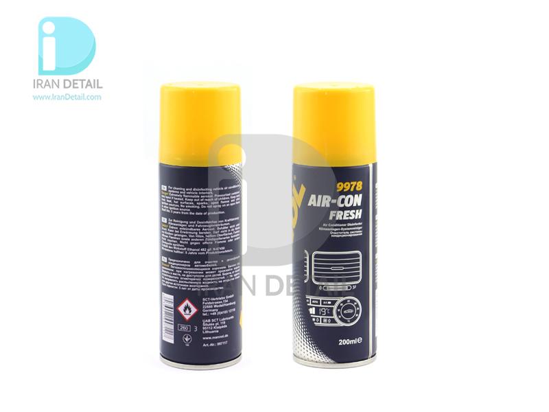 بمب تهویه از بین برنده بوی بد داخل خودرو مانول مدل MANNOL Air-Con Fresh 9978