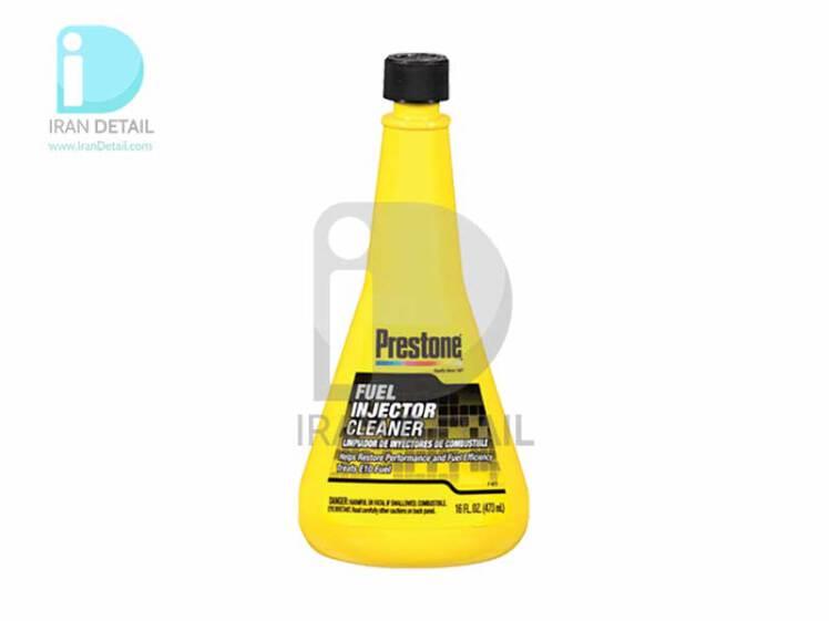 مایع تمیزکننده و انژکتور شوی زرد پریستون مدل Prestone Fuel Injector Cleaner AS730