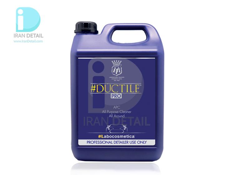 تمیزکننده چندمنظوره کنستانتره 4.5 لیتری لبوکاسمتیکا مفرا مدل Labocosmetica #DUCTILE 4.5l APC - All Purpose Cleaner All A