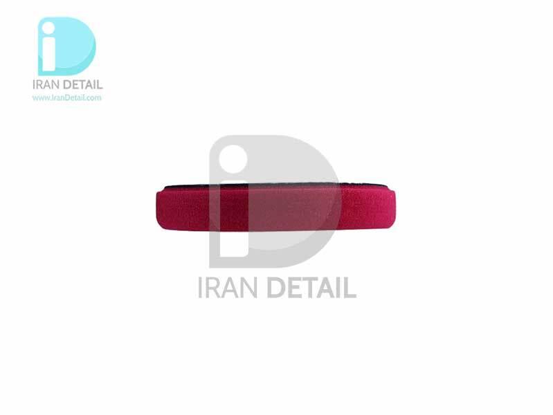 پد پولیش زبر روتاری قرمز زیزر 140 ميلی متری مدل Zvizzer Rotary Coarse Pad Red ST00015020HC