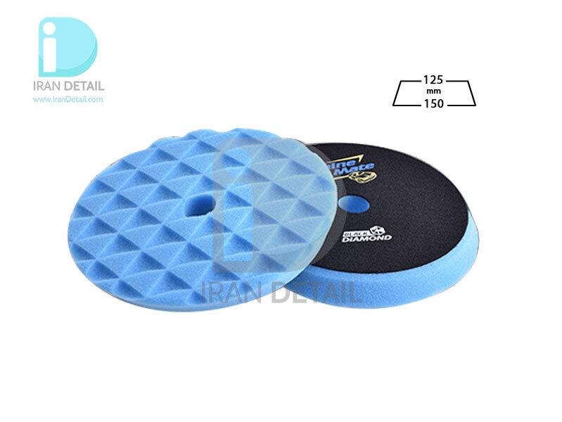 پد پولیش متوسط دوکاره آبی 125 میلی متری شاین میت مدل ShineMate Moderate Cut Foam Pad Blue T60