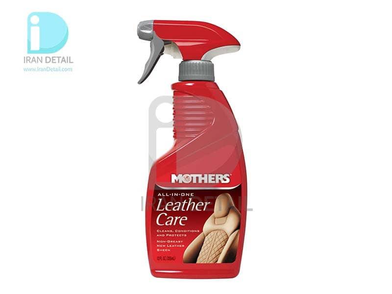 اسپري همه کاره چرم مادرز مدل 6512 Mothers All-In-One Leather Care