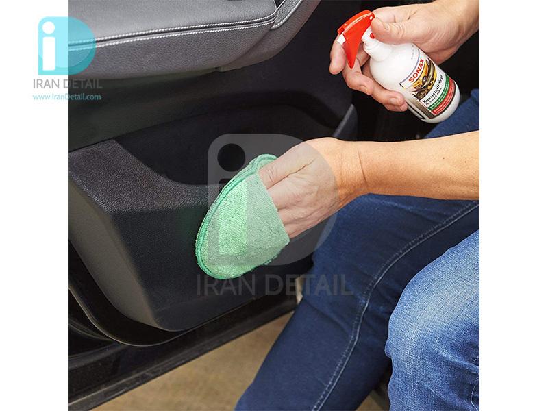 اسپری تمیز کننده و محافظ پلاستیک سوناکس مدل SONAX Plastic Care Interior & Exterior