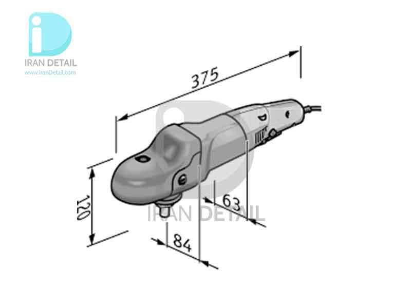 دستگاه پولیش روتاری فلکس 125 میلی متری مدل Flex PE 14-3 125