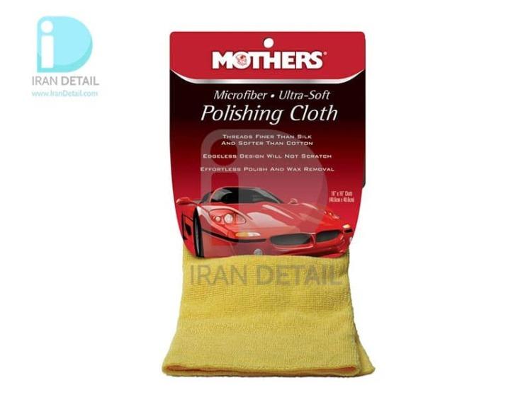 دستمال مایکروفایبر نرم مخصوص پوليش ماشین مادرز مدل 155200 Mothers Microfiber Ultra-Soft Polishing Cloth