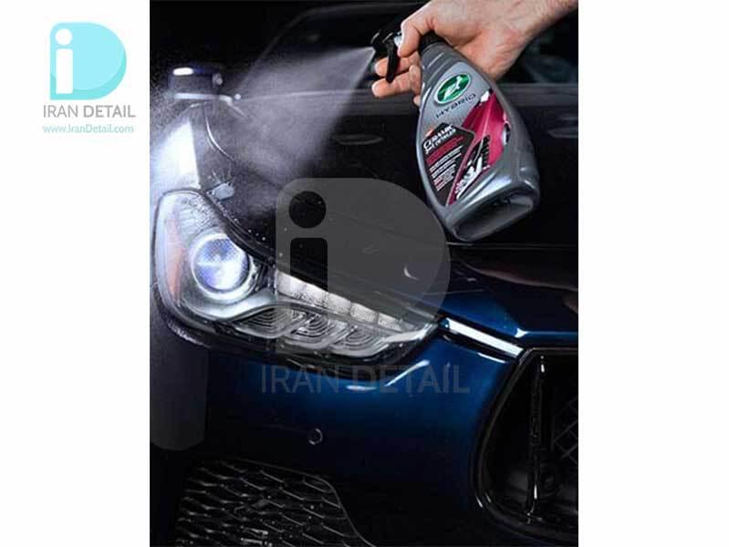 اسپری کارواش بدون آب، سرامیک و واکس هایبرید ترتل واکس مدل Turtle Wax Hybrid Solutions 3in1 Detailer